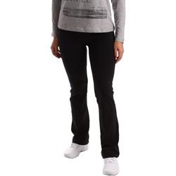 Abbigliamento Donna Pantaloni da tuta Key Up 5LI20 0001 Nero