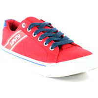 Scarpe Unisex bambino Sneakers basse Levi's VKIN0002T Rosso