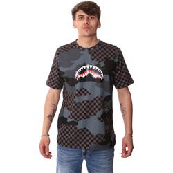 Abbigliamento Uomo T-shirt maniche corte Sprayground SP01820BLA Nero