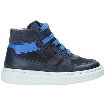 Scarpe Unisex bambino Sneakers alte NeroGiardini A923711M Blu