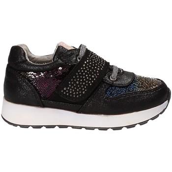 Scarpe Unisex bambino Sneakers basse Grunland SC3491 Nero