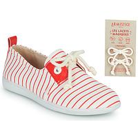 Scarpe Unisex bambino Sneakers basse Armistice STONE ONE Bianco / Rosso