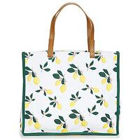 Borse Donna Tote bag / Borsa shopping Petite Mendigote CLEA LEMON Bianco