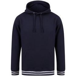 Abbigliamento Felpe Front Row FR841 Blu scuro/Grigio screziato
