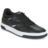 Scarpe Uomo Sneakers basse HUGO SWITON TENN FL Nero