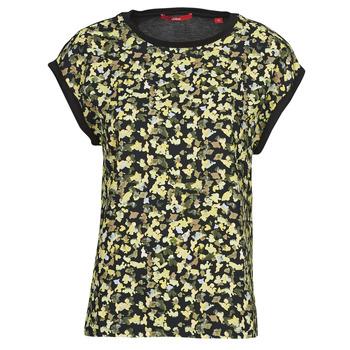 Abbigliamento Donna Top / Blusa S.Oliver 14-1Q1-32-7164-99B0 Nero / Multicolore