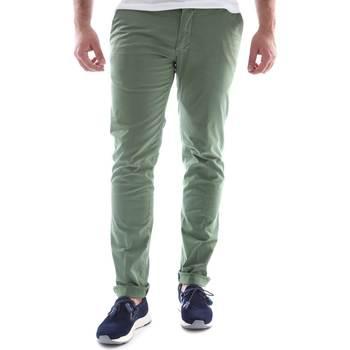 Abbigliamento Uomo Chino Sei3sei 6OYSTER E1648 Verde