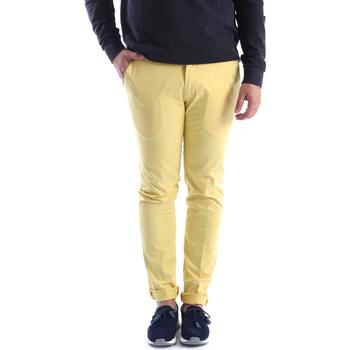 Abbigliamento Uomo Chino Sei3sei 6OYSTER E1648 Giallo