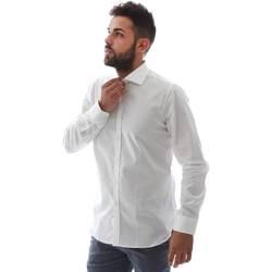 Abbigliamento Uomo Camicie maniche lunghe Gmf EQ2 1428 951106/01 Bianco