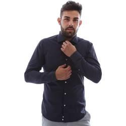 Abbigliamento Uomo Camicie maniche lunghe Gmf EQ2 1079 952151/02 Blu