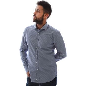 Abbigliamento Uomo Camicie maniche lunghe Gmf GMF3 3218 961153/01 Blu
