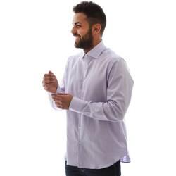 Abbigliamento Uomo Camicie maniche lunghe Gmf GMF5 4728 961105/04 Rosa
