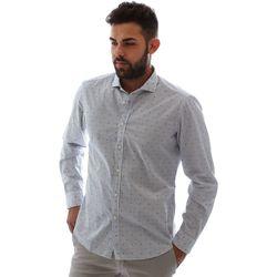 Abbigliamento Uomo Camicie maniche lunghe Gmf 961232/4 Bianco