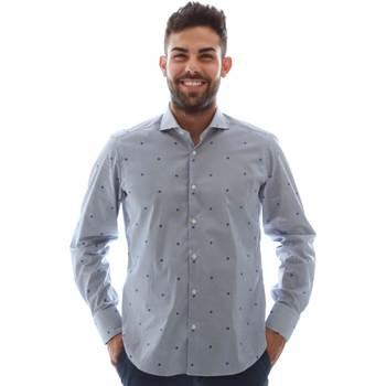 Abbigliamento Uomo Camicie maniche lunghe Gmf 961231/4 Blu