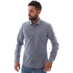 Abbigliamento Uomo Camicie maniche lunghe Gmf 961146/2 Blu