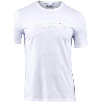 Abbigliamento Uomo T-shirt maniche corte Lumberjack CM60343 001 508 Bianco