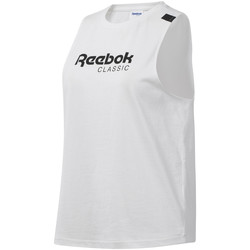 Abbigliamento Donna Top / T-shirt senza maniche Reebok Sport DT7235 Bianco