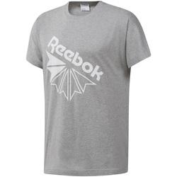 Abbigliamento Uomo T-shirt maniche corte Reebok Sport DT8213 Grigio