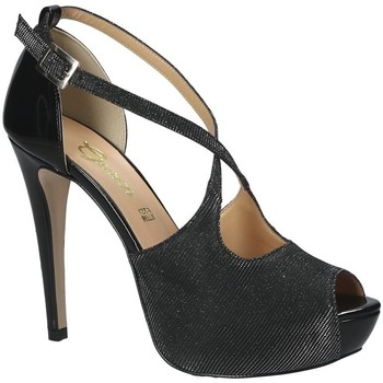 Scarpe Donna Sandali Grace Shoes 1552 Nero
