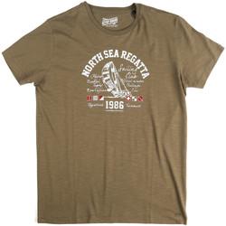 Abbigliamento Uomo T-shirt maniche corte Key Up 2G78S 0001 Verde