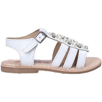Scarpe Bambina Sandali Asso 65954 Bianco
