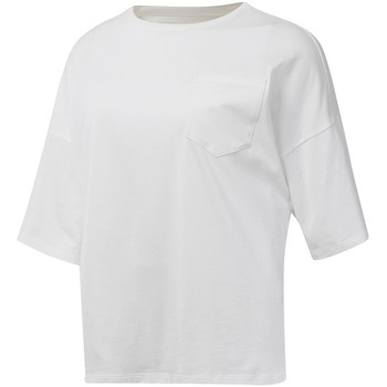 Abbigliamento Donna T-shirt maniche corte Reebok Sport DU4048 Bianco