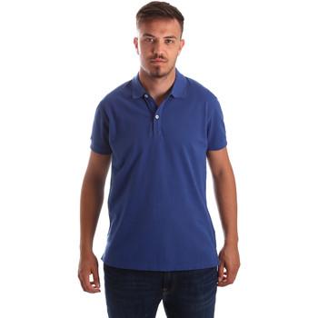 Abbigliamento Uomo Polo maniche corte Navigare NV82086 Blu