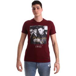 Abbigliamento Uomo T-shirt maniche corte Gaudi 921BU64003 Rosso