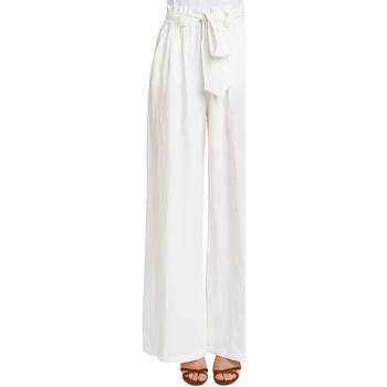 Abbigliamento Donna Pantaloni morbidi / Pantaloni alla zuava Gaudi 011FD25033 Bianco