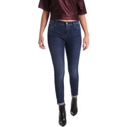 Abbigliamento Donna Jeans slim Gas 355652 Blu