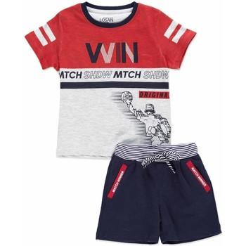 Abbigliamento Unisex bambino Completo Losan 815-8009AC Grigio