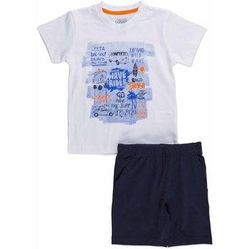 Abbigliamento Unisex bambino Completo Losan 815-8045AC Bianco