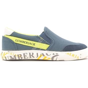 Scarpe Unisex bambino Slip on Lumberjack SB09105 003 N58 Blu