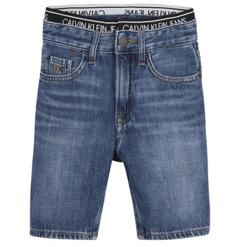 Abbigliamento Bambino Shorts / Bermuda Calvin Klein Jeans AUTHENTIC LIGHT WEIGHT Blu
