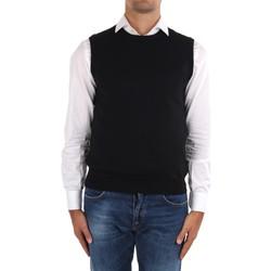 Abbigliamento Uomo Gilet / Cardigan La Fileria 14290 55168 Nero