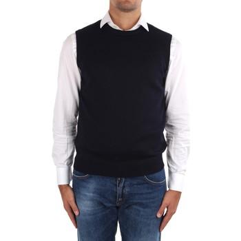 Abbigliamento Uomo Gilet / Cardigan La Fileria 14290 55168 Blu