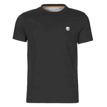 Abbigliamento Uomo T-shirt maniche corte Timberland SS DUNSTAN RIVER POCKET TEE SLIM Nero