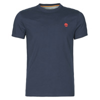 Abbigliamento Uomo T-shirt maniche corte Timberland SS DUNSTAN RIVER POCKET TEE SLIM Marine