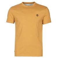 Abbigliamento Uomo T-shirt maniche corte Timberland SS DUNSTAN RIVER POCKET TEE SLIM Beige