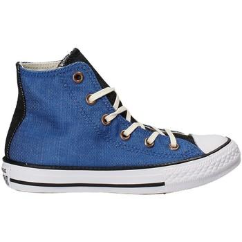 Scarpe Unisex bambino Sneakers alte Converse 659965C Blu