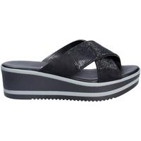 Scarpe Donna Ciabatte Grace Shoes 21114 Nero