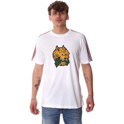 Abbigliamento Uomo T-shirt maniche corte Sprayground 20SP032WHT Bianco