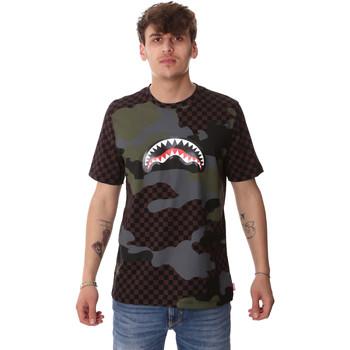 Abbigliamento Uomo T-shirt maniche corte Sprayground SP01820BRO Marrone