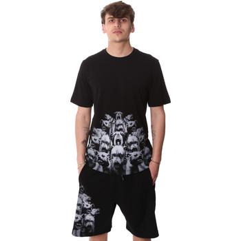 Abbigliamento Uomo T-shirt maniche corte Sprayground 20SP012 Nero