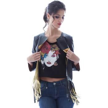 Abbigliamento Donna Giacche / Blazer Grace Shoes DF131 Nero