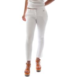 Abbigliamento Donna Chino Animagemella 16PE003 Bianco