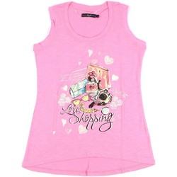 Abbigliamento Donna Top / T-shirt senza maniche Key Up S88Z 0001 Rosa