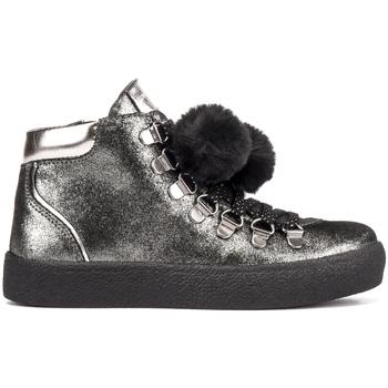 Scarpe Unisex bambino Sneakers alte Lumberjack SG47703 002 A11 Nero