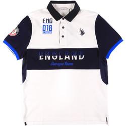 Abbigliamento Uomo Polo maniche corte U.S Polo Assn. 43773 41029 Bianco
