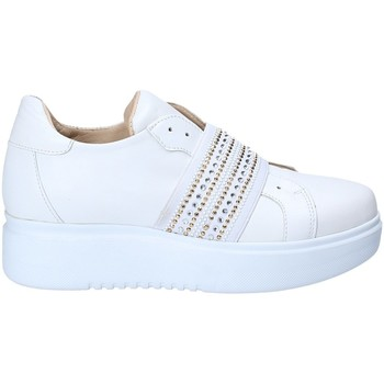 Scarpe Donna Sneakers basse Exton E05 Bianco